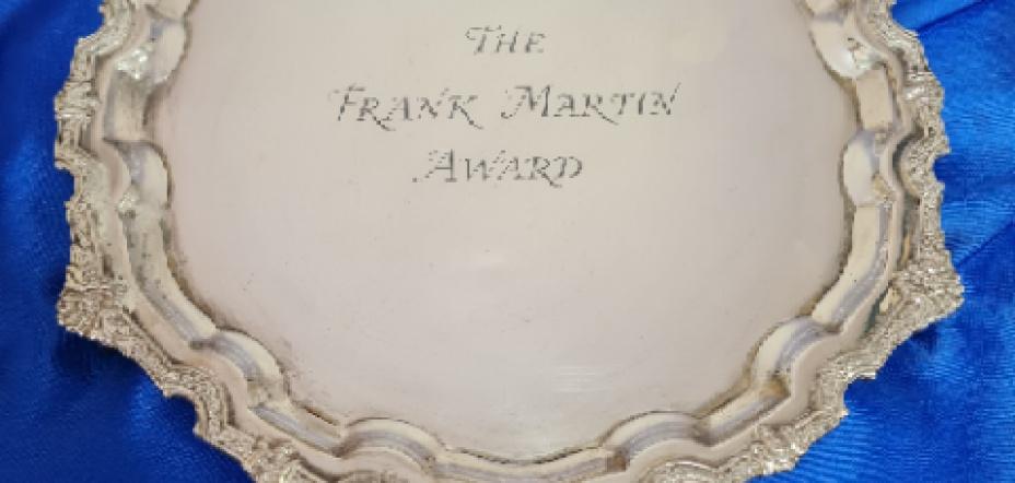 Frank Martin Award - 2021