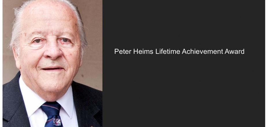 Peter Heims Life-Time Achievement Award 2020