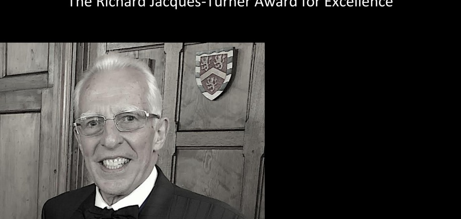 Richard Jacques-Turner Award for Excellence