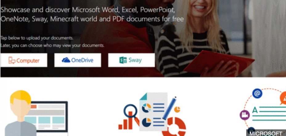 Exposed files on Microsoft's document-sharing site