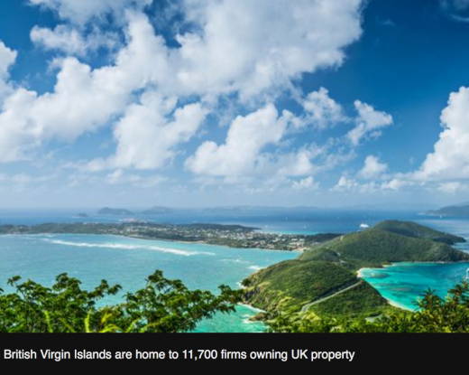 Island tax haven firms own 23,000 UK properties