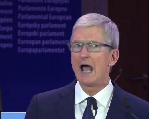 Tim Cook blasts 'weaponisation' of personal data and praises GDPR