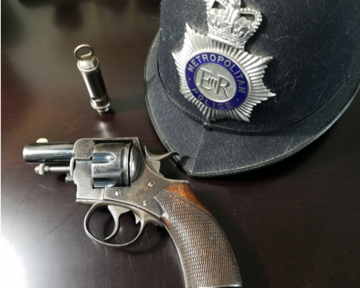 Sherlock Holmes and the Webley Revolvers