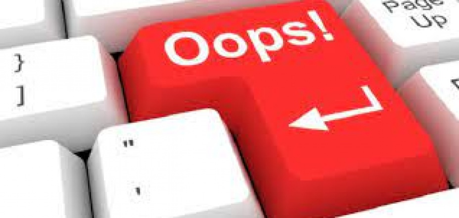 Is sending an email by mistake, data processing, but not data breach?