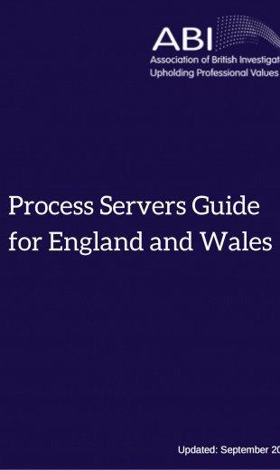 ABI Process Servers' Guide